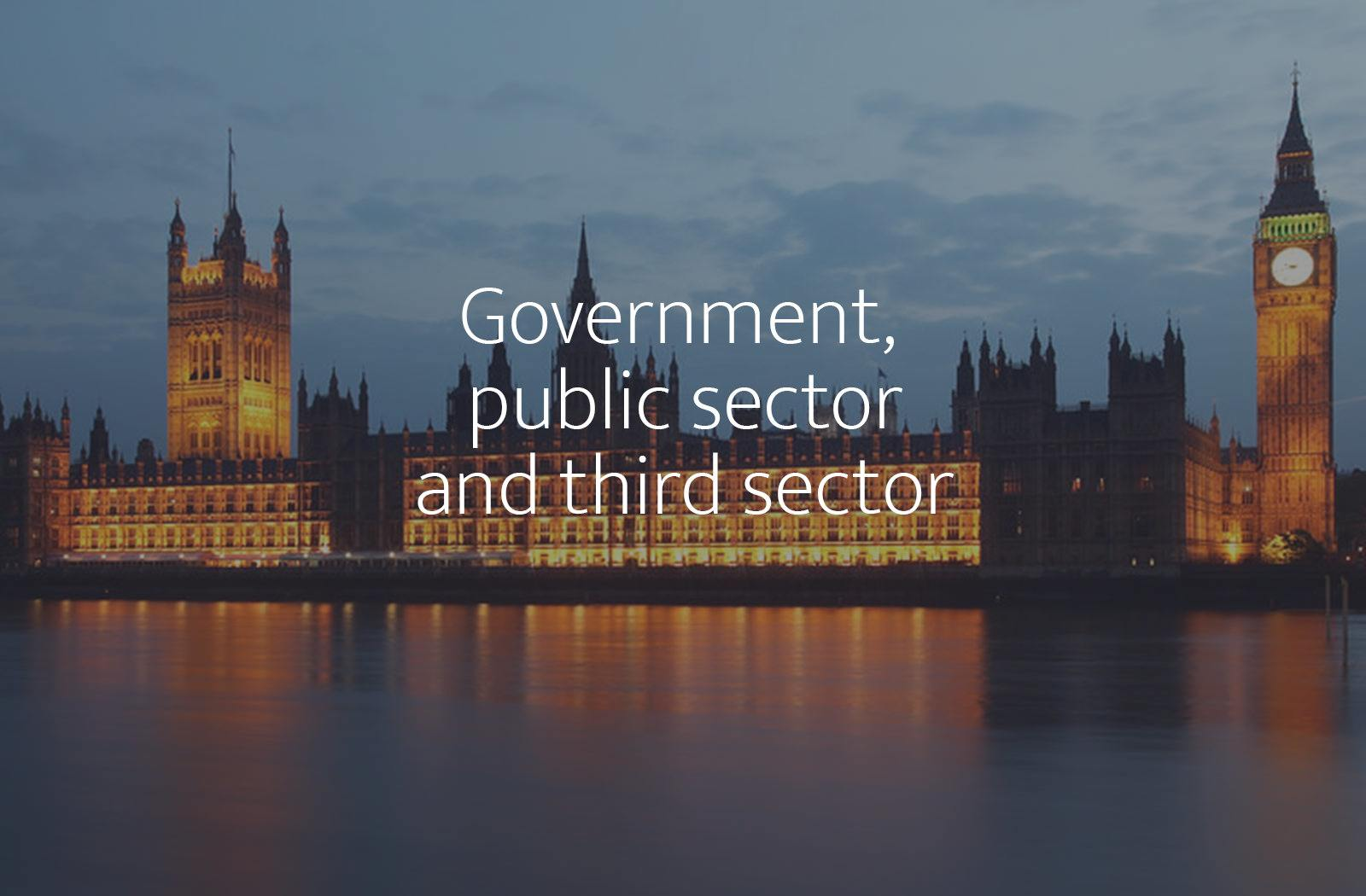 Recruitment, assessment and development for the Public Sector & Third Sector