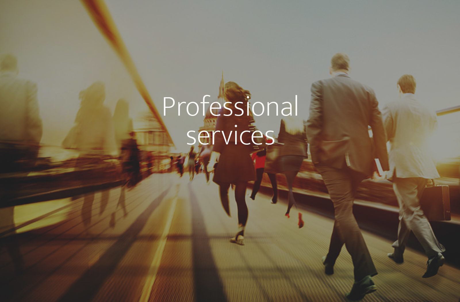 Recruitment, assessment and development for Professional Services