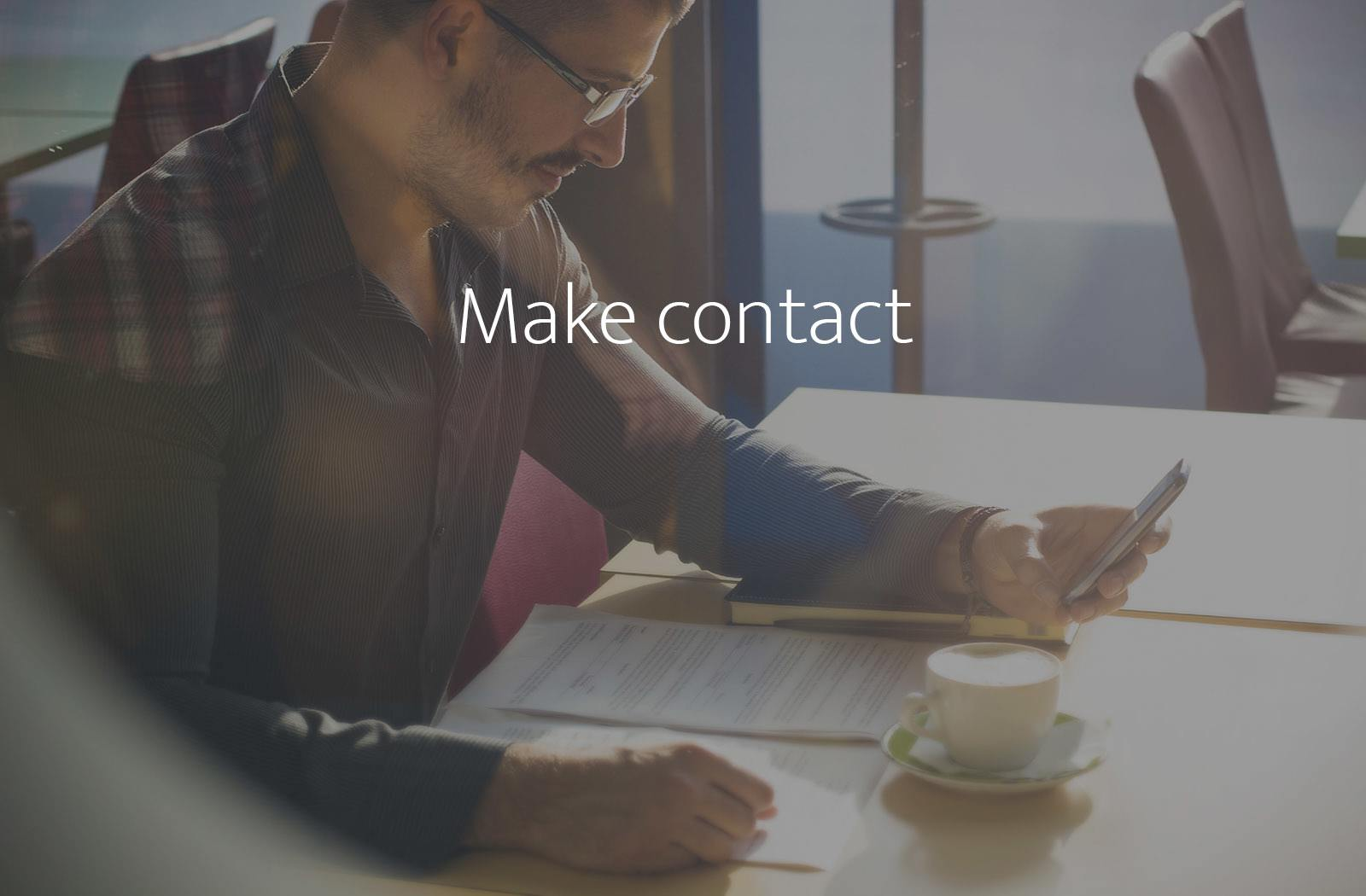 Make contact with bfpeople