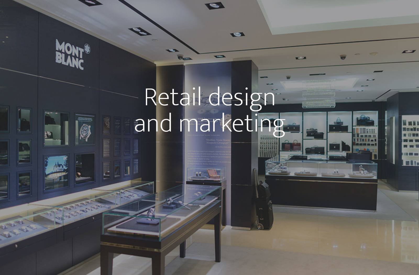 Recruitment, assessment and development for Retail design and marketing