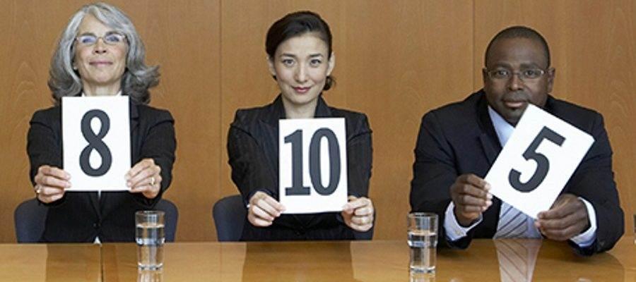 assessment centre ratings